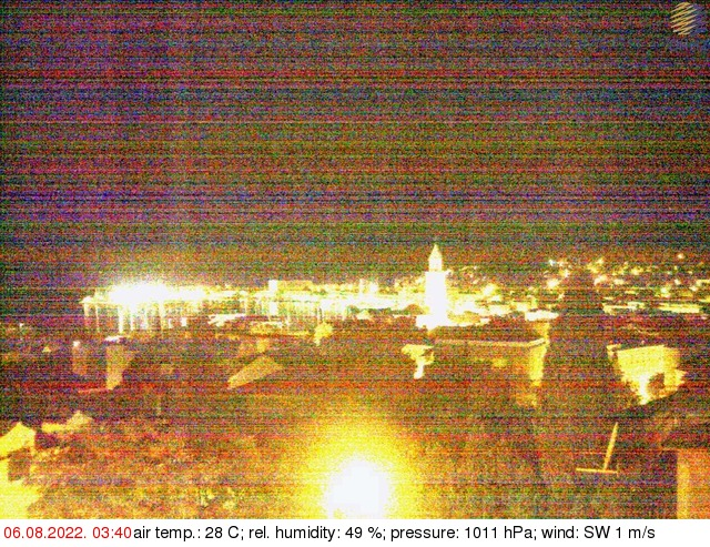 Webcam For The Port Of Split